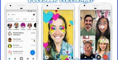 facebook messenger en el google play store