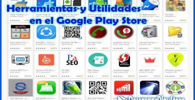 Herramientas y utilidades para el play store