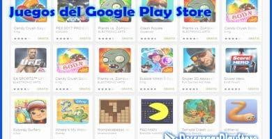 juegos en el play store