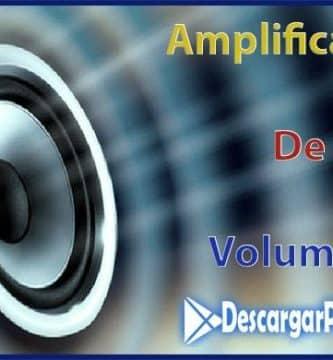 amplificador de volumen