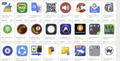 herramientas y utilidades como app del play store